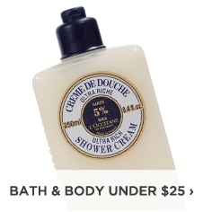 Bath and Body under $25