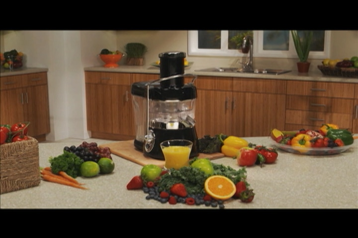 Buy Fusion Juicer Whisper Quiet Rapid Nutrition Juicer with Recipe ...